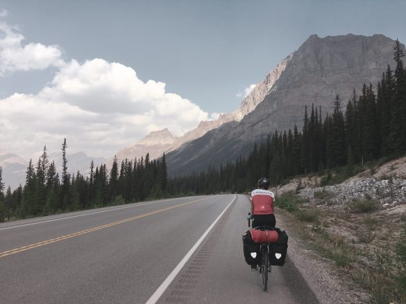 We packed our roller skates and cycled 7,000 miles around North America