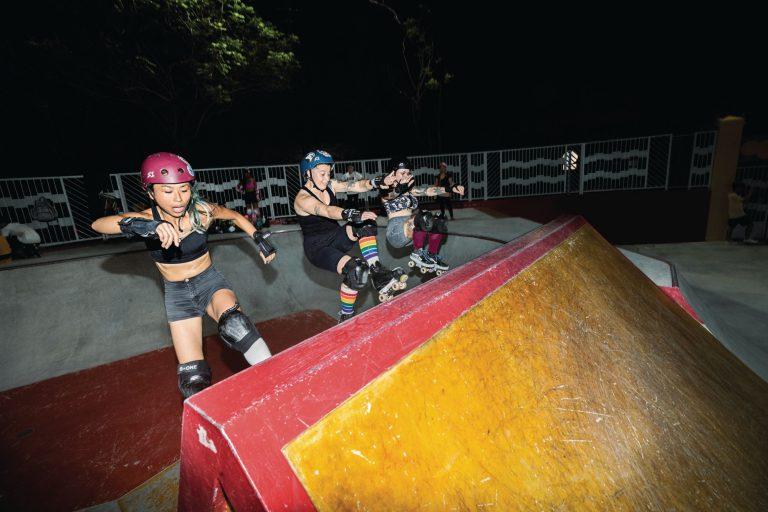 CIB Hong Kong Roller Skating