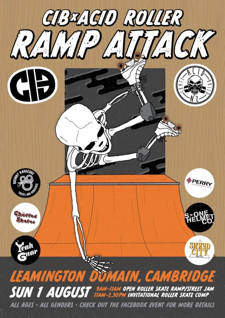 acid ramp attack poster